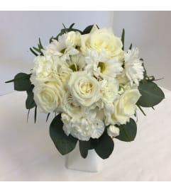 Prom - White Elegance Bouquet (pick up only)