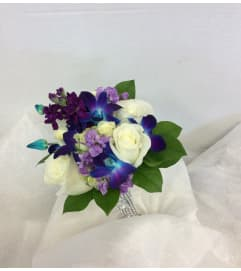 Prom - Blue Sapphire Bouquet (pick up only)