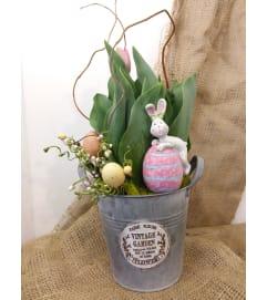 Blooming Bunny Tin