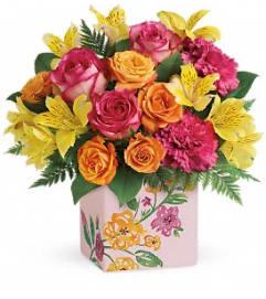 A Painted Blossoms Bouquet