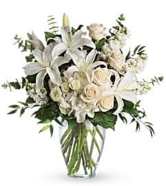 Large Vase-White Mix