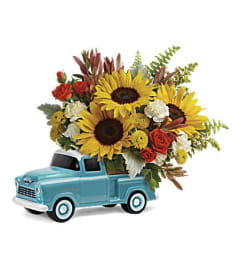 The Chevy Pickup Bouquet