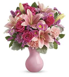 The Lush Blush Bouquet