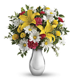 A Just Tickled Bouquet