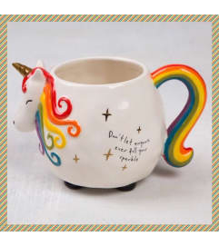 Unicorn Mug-Bright