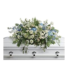 A Tender Remembrance Casket Spray