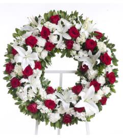 Cherished Farewell-Wreath