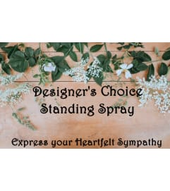 Standing Spray-Designer's Choice