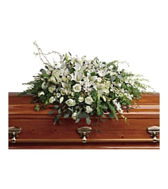 The Grandest Glory Casket Spray