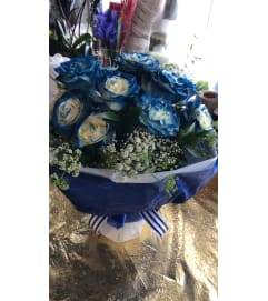 True Blue Love Bouquet
