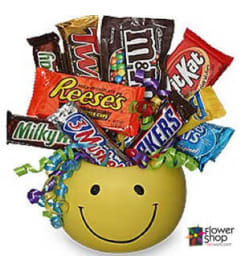 Junk Food Smiles Basket
