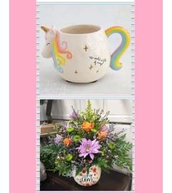 Pastel Unicorn Mug