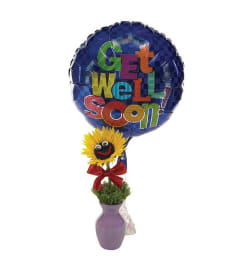 Get Well Sunny & Bright Wishes