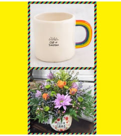 Rainbow Mug-Sunshine
