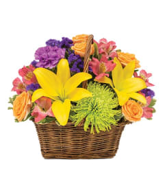 Your Happy Blooms Basket