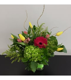 Hello Spring Garden Arrangement