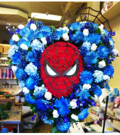 Spiderman Tribute Heart
