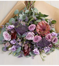 Fascinating Wrapped Bouquet