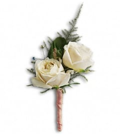 The White Tie Boutonniere