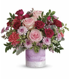 Teleflora Washed in Pink