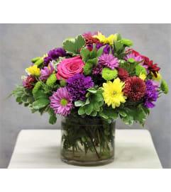 A Mosaic of Colour Bouquet