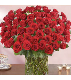 Premium 100 Long Stems Roses