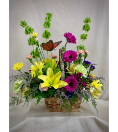 Blooming Spring Basket