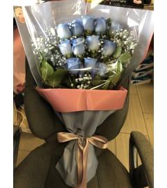 Simple Blue Bouquet