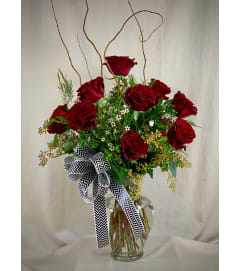 Dazzling Dozen - Exquisite Red Roses