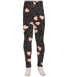 Kids Heart Leggings