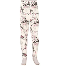Kids Cherry Blossom Leggings