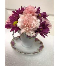 It's a Tradition - Teacup Bouquet