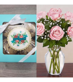 Mother's Day Cookie and Rose Combo 10th-13th ONLY
