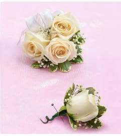 Corsage and Boutonniere Package