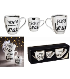 Bear Family, Java Cup Gift Set