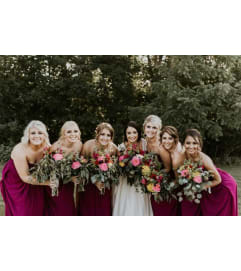 Wine Colored Wedding