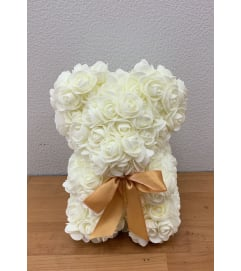 Foam Rose Teddy Bear