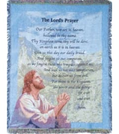 Lord's Prayer Afghan
