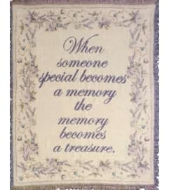 Memory Becomes A Treasure Afghan