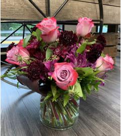 Deep Purple Floral Bouquet