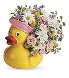 Sweet Little Girl Ducky Bouquet