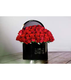 Amazing Flowers Signature Black Box