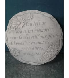 Beautiful Memories Stepping Stone