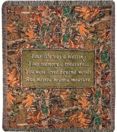 Tapestry Throw - Natures Blessings