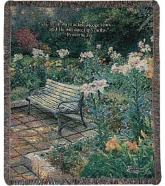Tapestry Throw - Eternal Springtime