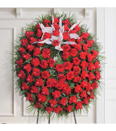 Funeral Spray of Roses
