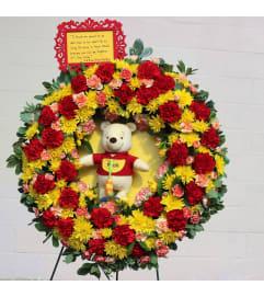 Poo Bear Wreath