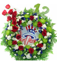 NY Yankees Wreath