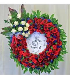 Semper Fi Wreath