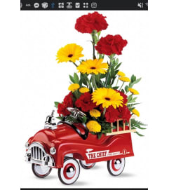 Fire Engines Bouquet